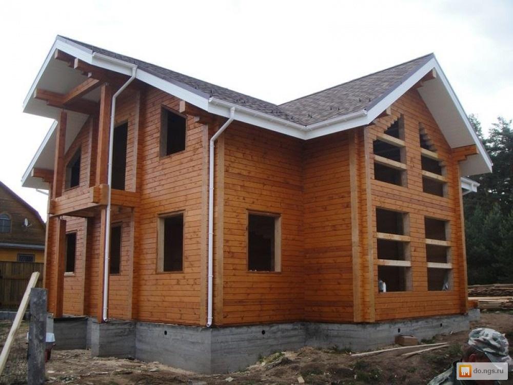 Дома из бруса проектКак декорировать дом на