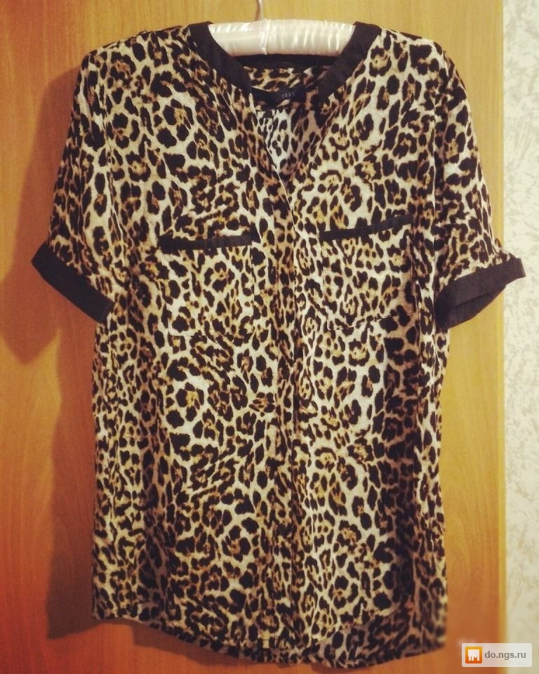 Купить Блузку Леопард