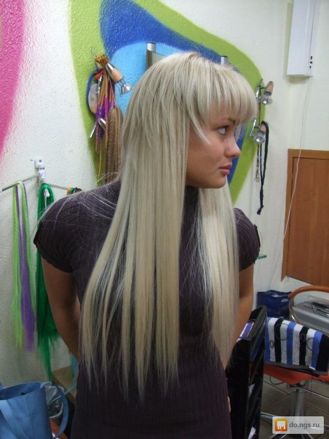 Фото как наростить волосы с короткой стрижки