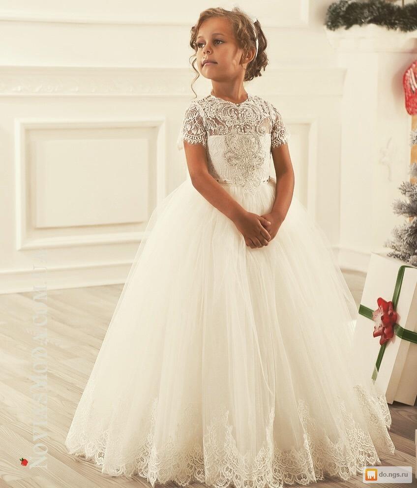 Фото детских платьев на свадьбу