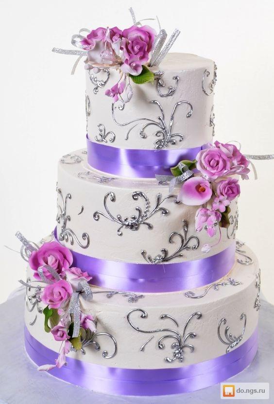 Свадебные торты в новосибирске фото
