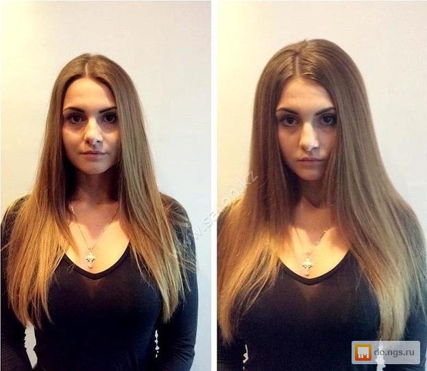 Как сделать объем на прямых волосах