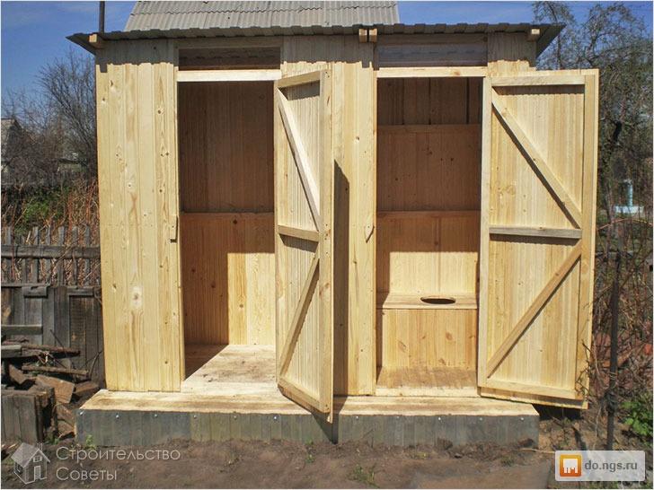 Как построить туалет на даче своими руками недорого - Leksco.ru
