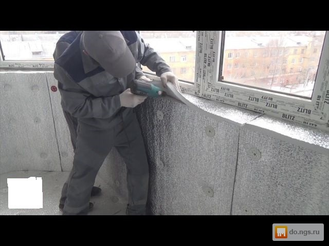 Detailed video instruction for warming of a balcony интерьер.