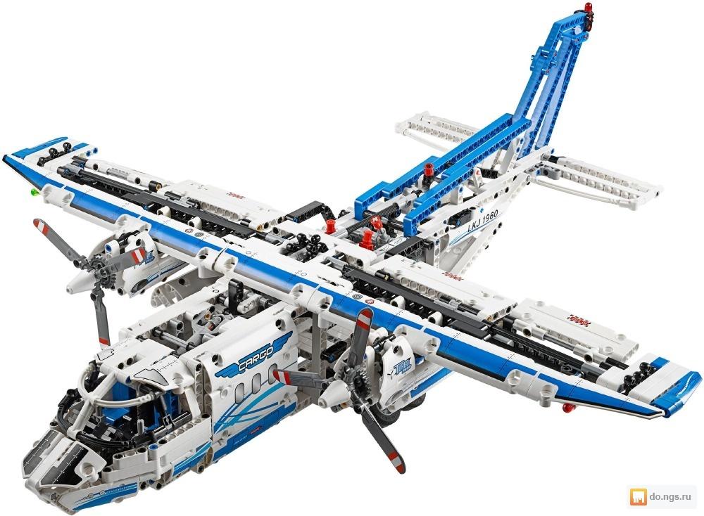 LEGO Technic 42025 Грузовой Самолет б/у Цена - 4000.00 руб., Новосибирск - НГС.ОБЪЯВЛЕНИЯ