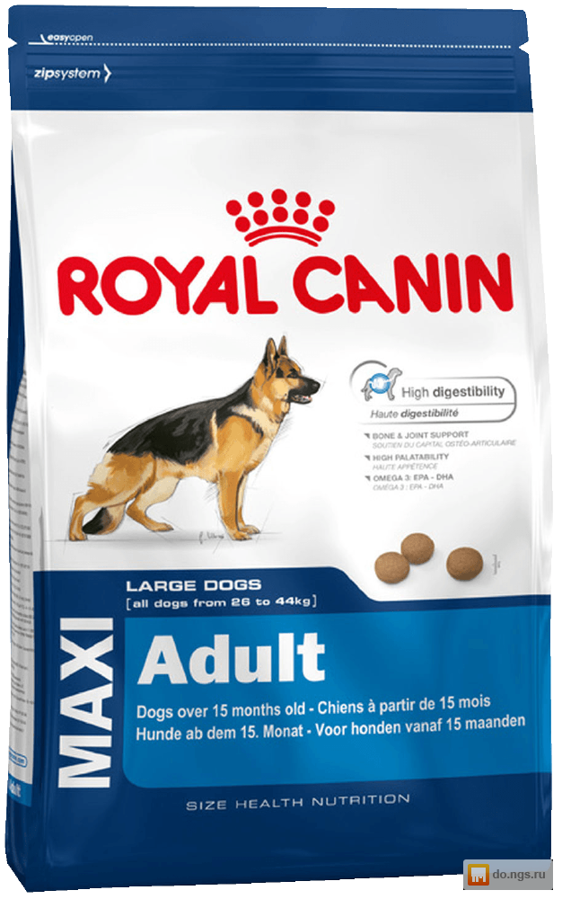 Корм royal canin professional maxi adult