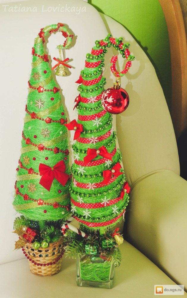 Подарок елочка своими руками