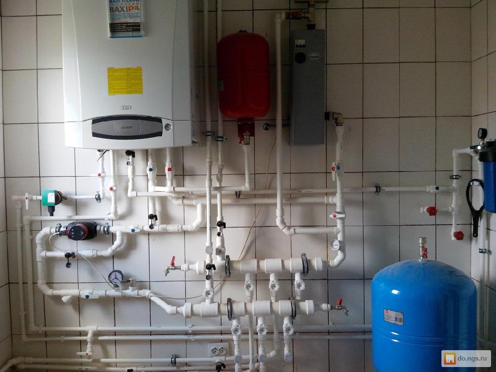 Монтаж труб отопления из полипропиленовых труб в частном доме