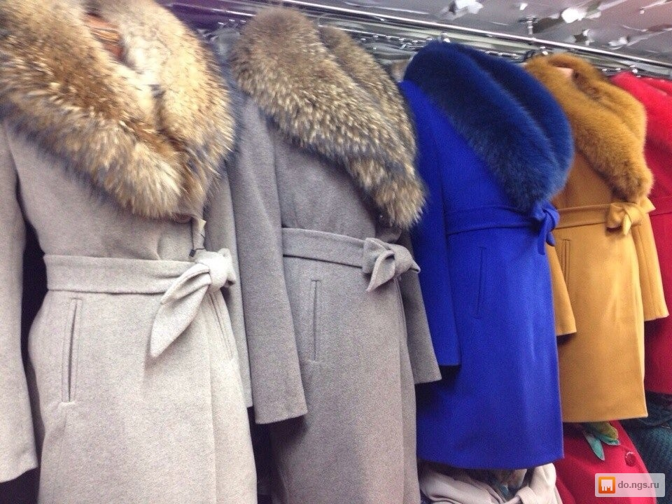 Зимнее пальто с мехом купить в минске