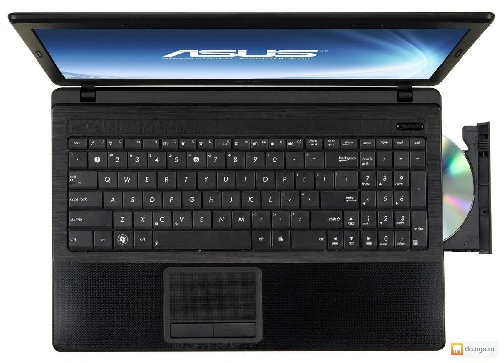 Ноутбук asus k53e brown 90n3cad54w2b23rd13ay