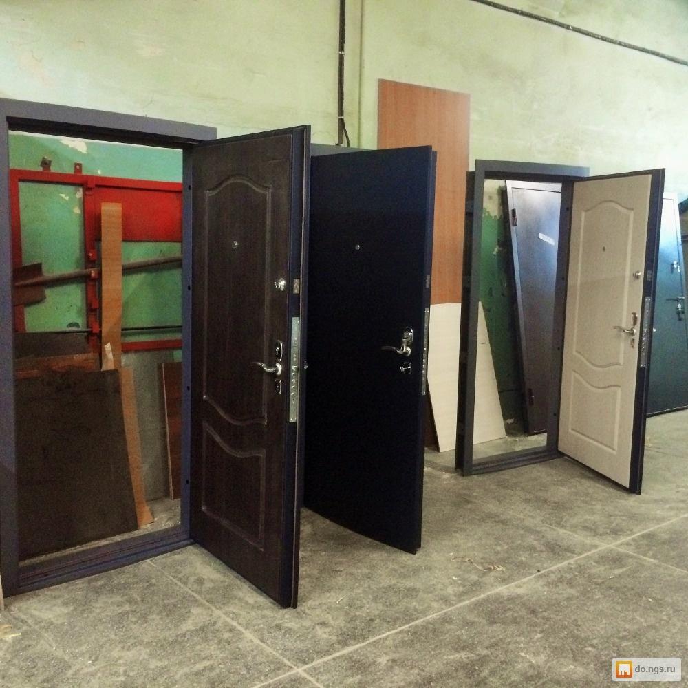 металлические двери срочно продаю
