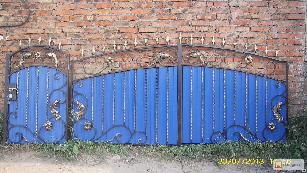 Где в ельце можно заказать сварные ворота калитки привод откатных ворот комплект