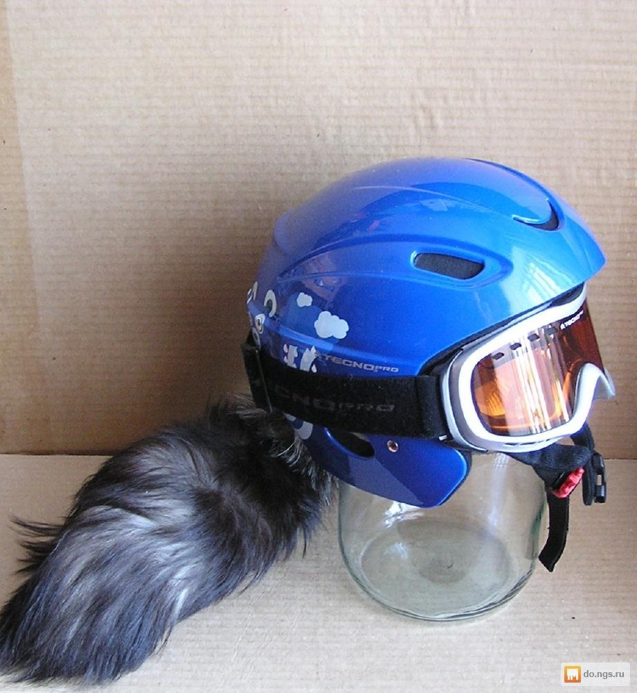 Хвостик на шлем