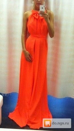 Длинные платья на проститутке