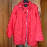 Продам куртку женскую цвет красный., Новосибирск