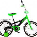 Велосипед hot rod 12 зеленый, Новосибирск