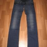 Продам джинсы для беременных новые с этикеткой синего цвета, Новосибирск