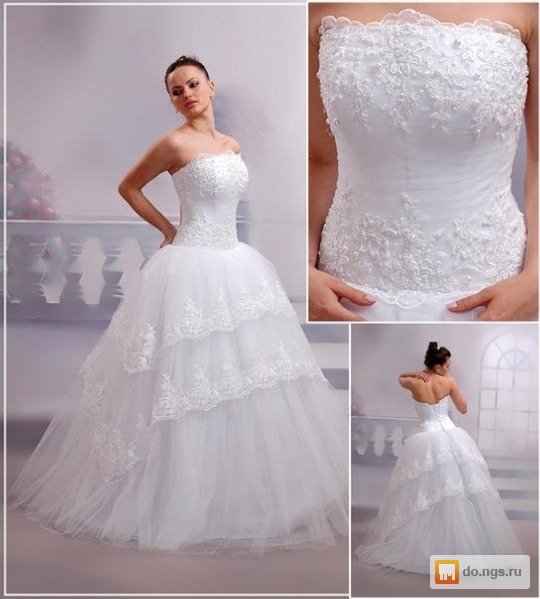 Свадебные платья разных цветов и фасонов фото