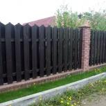 Установим заборы, калитки, металлические, деревянные, сварные, Новосибирск