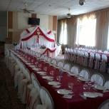 Чехлы, банты на стулья, текстиль для праздника, Новосибирск