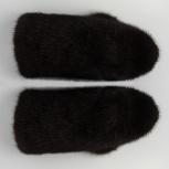 Продам норковые варежки (черные), Новосибирск