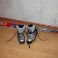 Продам детские лыжи, ботинки, палки, Новосибирск
