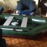Лодка 2-х мест, армированное пвх, новая, надувным дном, Моторно -гребн, Новосибирск