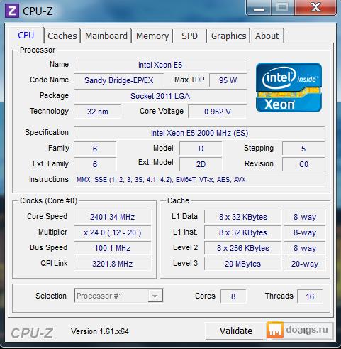 Разгон процессора 35 73