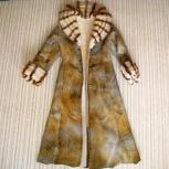Продам дубленку женскую, Италия б/у размер 42-46, Новосибирск