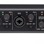 TASCAM US-2x2 - двухканальный звуковой USB-интерфейс, Новосибирск