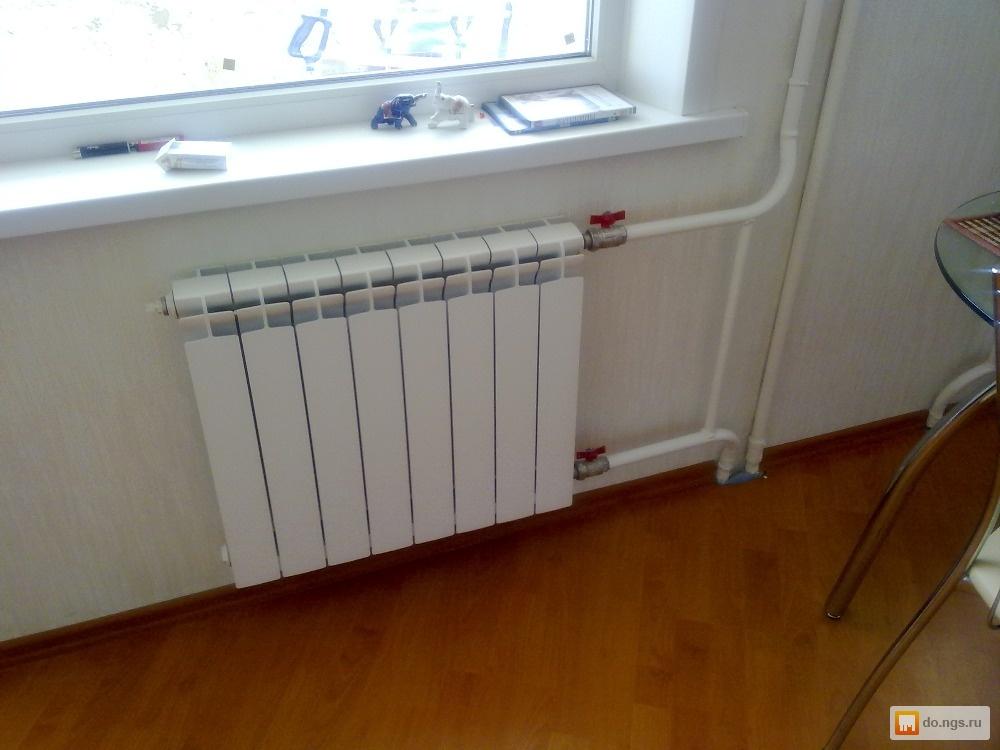Батареи в квартире фото