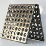 Плитка пола металлическая для промышленных полов, Новосибирск