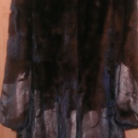 Норковая шубка мраморного цвета, Новосибирск