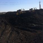 Чернозем, перегной, плодородная земля, навоз. торф. Доставка, Новосибирск