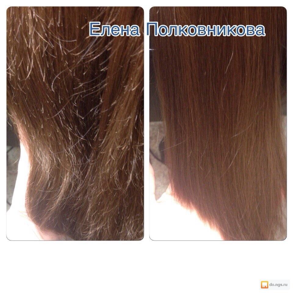 Убирание секущихся волос по всей длине