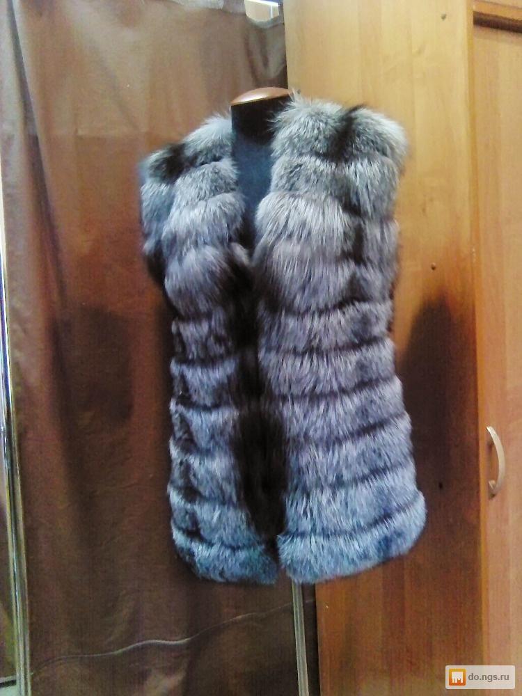 Пошив жилетки из меха