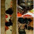 Комплект: сноуборд, крепления, ботинки, Новосибирск