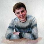 Портрет небольшой, быстро, Новосибирск