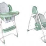 Продам качелю+стул для кормления 2в1, Новосибирск