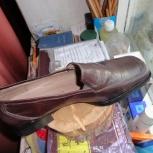 Новые демисезонные туфли Elche, натуральная кожа, Новосибирск
