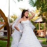 шикарное платье свадебное, Новосибирск