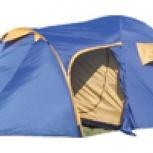 продам палатку 3-4 местную с тамбуром два слоя, Новосибирск