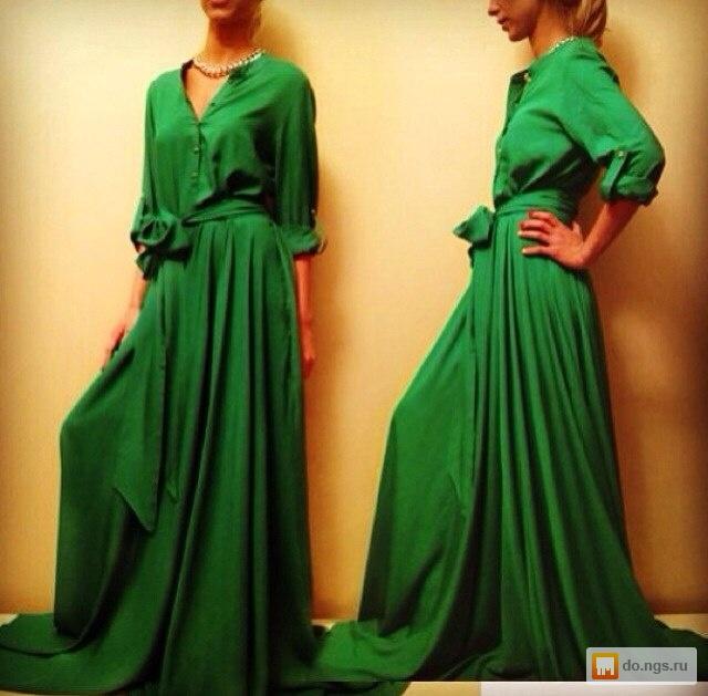 Платье в пол с рукавами своими руками выкройки