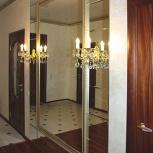 Фацет на стекле и зеркале (погонный метр), Новосибирск