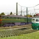 Изготовление железнодорожных, действующих макетов, Новосибирск
