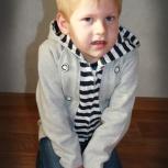 Толстовка с капюшоном для мальчика от 3-х до 5-ти лет, Новосибирск