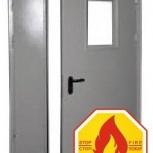 Противопожарная дверь в проем 1400 / 1500 / 1600*2100 (EI60) шт, Новосибирск