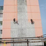 Покраска фасада зданий, металлоконструкций, Новосибирск