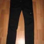 Продам джинсы для беременных черного цвета, р. 42-44, Новосибирск