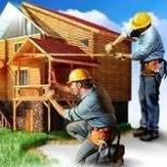Строим дома, коттеджи, бани из бруса и оцилиндрованного бревна., Новосибирск